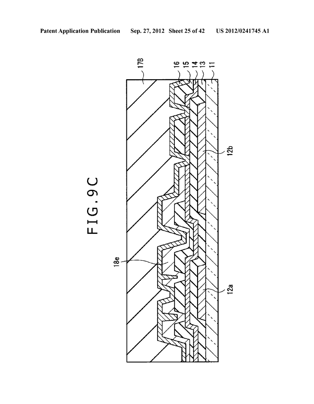 DISPLAY DEVICE, MANUFACTURING METHOD OF DISPLAY DEVICE AND ELECTRONIC     EQUIPMENT - diagram, schematic, and image 26