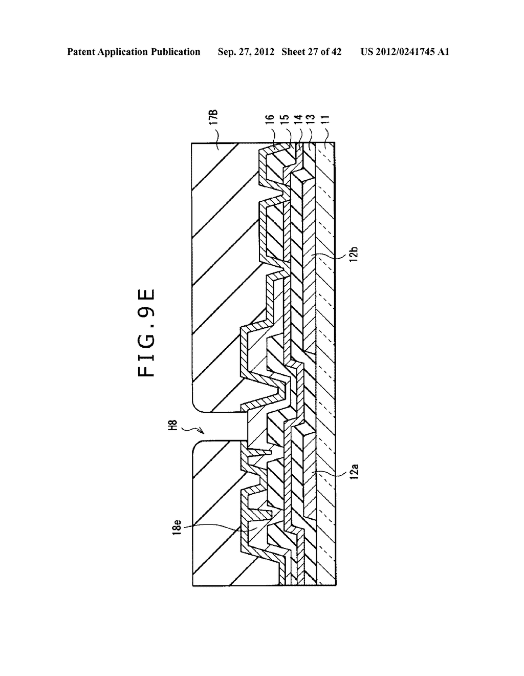 DISPLAY DEVICE, MANUFACTURING METHOD OF DISPLAY DEVICE AND ELECTRONIC     EQUIPMENT - diagram, schematic, and image 28