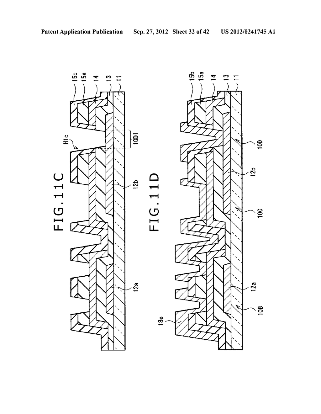 DISPLAY DEVICE, MANUFACTURING METHOD OF DISPLAY DEVICE AND ELECTRONIC     EQUIPMENT - diagram, schematic, and image 33
