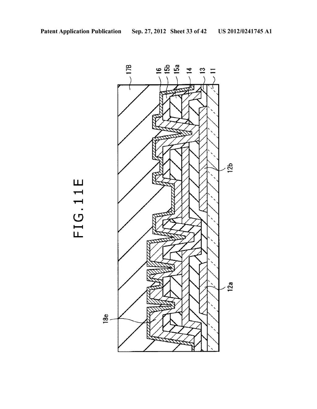 DISPLAY DEVICE, MANUFACTURING METHOD OF DISPLAY DEVICE AND ELECTRONIC     EQUIPMENT - diagram, schematic, and image 34
