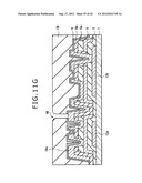 DISPLAY DEVICE, MANUFACTURING METHOD OF DISPLAY DEVICE AND ELECTRONIC     EQUIPMENT diagram and image