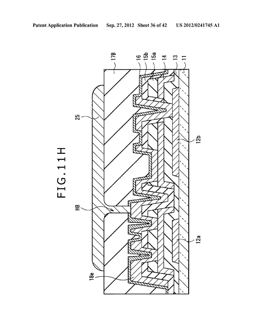 DISPLAY DEVICE, MANUFACTURING METHOD OF DISPLAY DEVICE AND ELECTRONIC     EQUIPMENT - diagram, schematic, and image 37