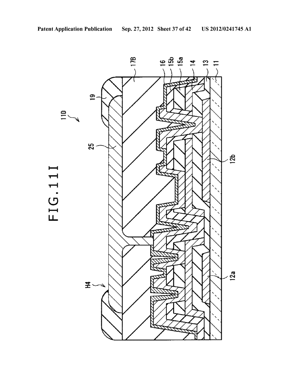 DISPLAY DEVICE, MANUFACTURING METHOD OF DISPLAY DEVICE AND ELECTRONIC     EQUIPMENT - diagram, schematic, and image 38
