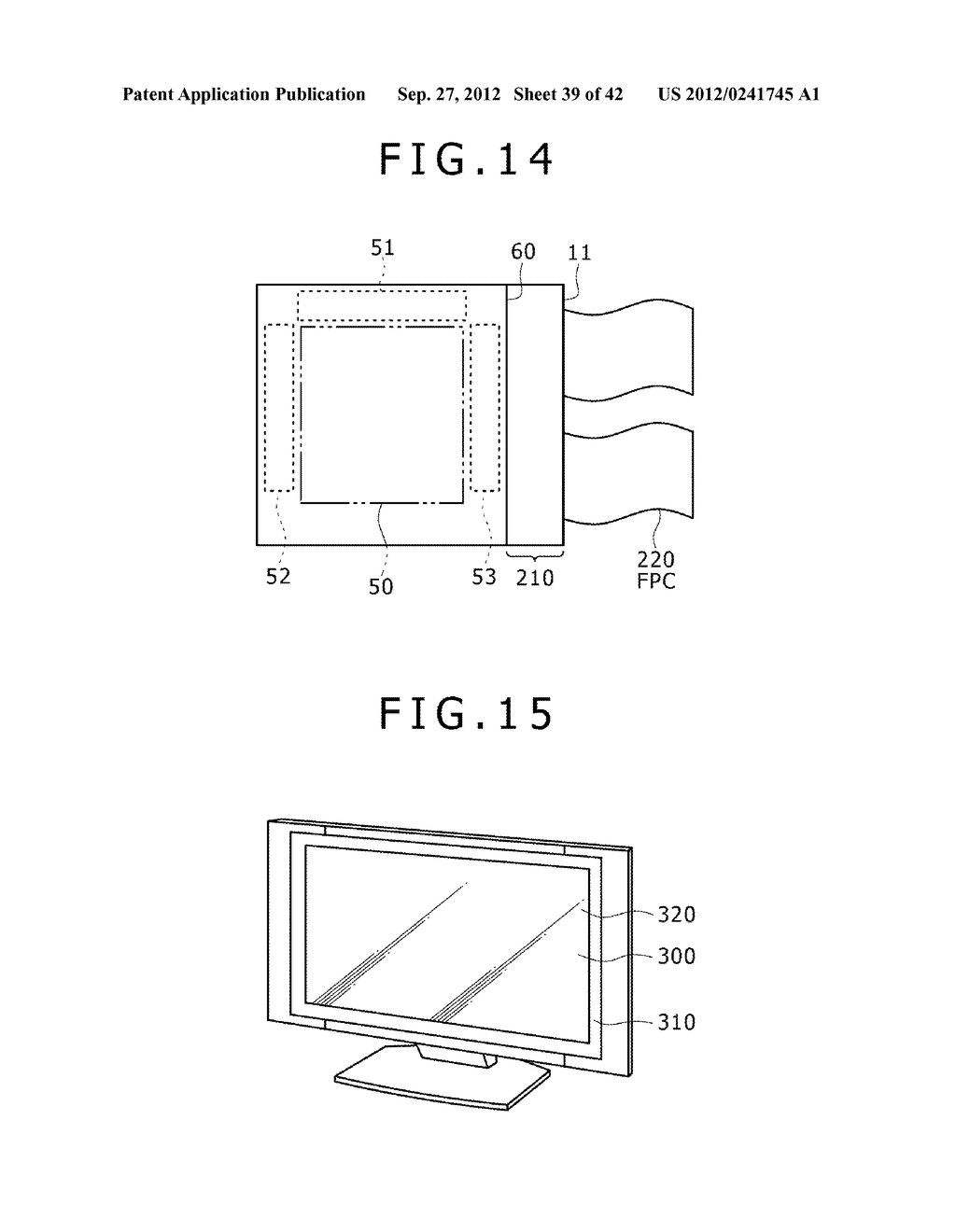DISPLAY DEVICE, MANUFACTURING METHOD OF DISPLAY DEVICE AND ELECTRONIC     EQUIPMENT - diagram, schematic, and image 40