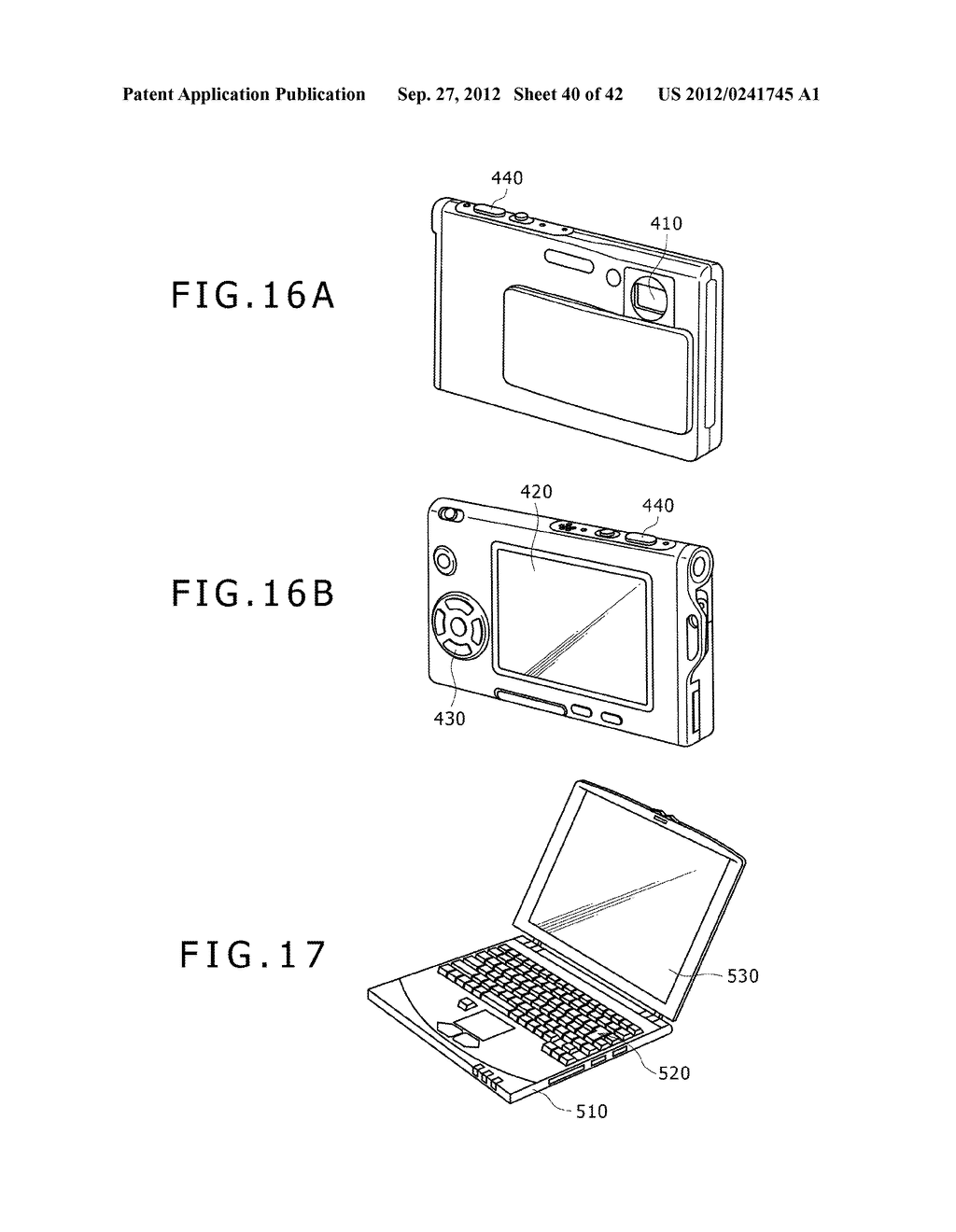 DISPLAY DEVICE, MANUFACTURING METHOD OF DISPLAY DEVICE AND ELECTRONIC     EQUIPMENT - diagram, schematic, and image 41
