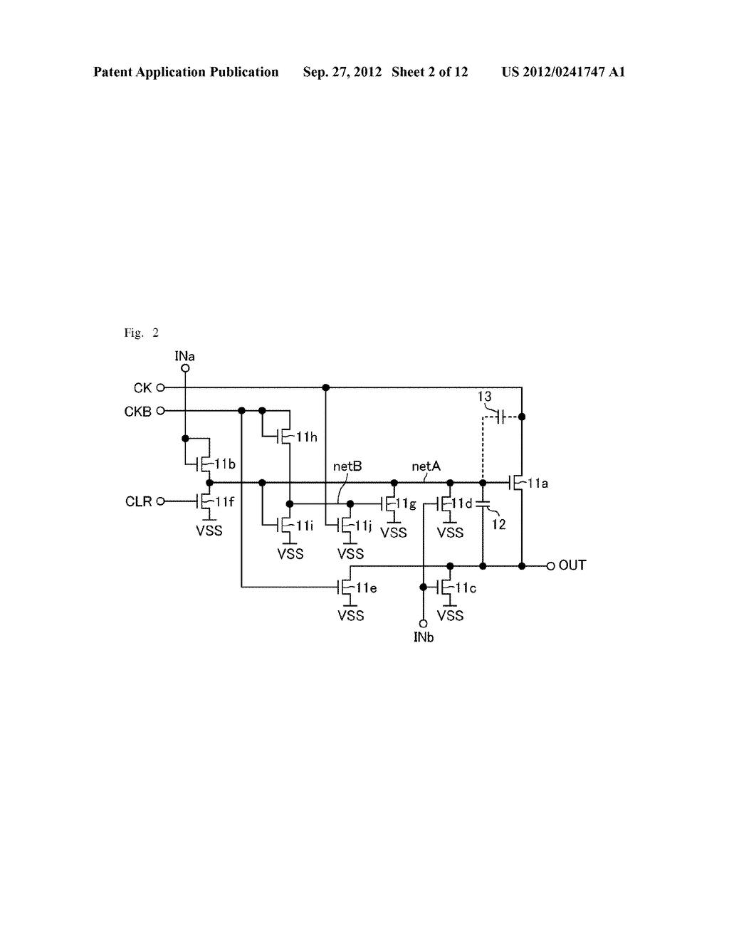 SHIFT REGISTER AND DISPLAY APPARATUS - diagram, schematic, and image 03