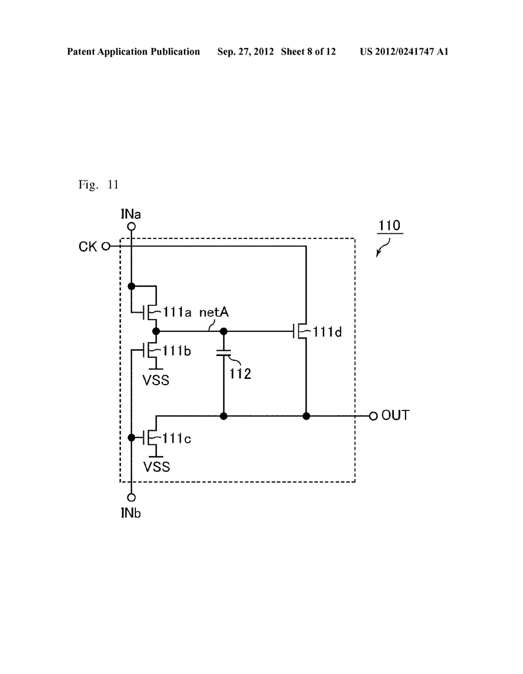 SHIFT REGISTER AND DISPLAY APPARATUS - diagram, schematic, and image 09