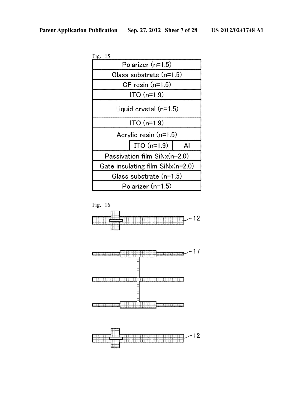 ACTIVE MATRIX SUBSTRATE AND DISPLAY DEVICE - diagram, schematic, and image 08