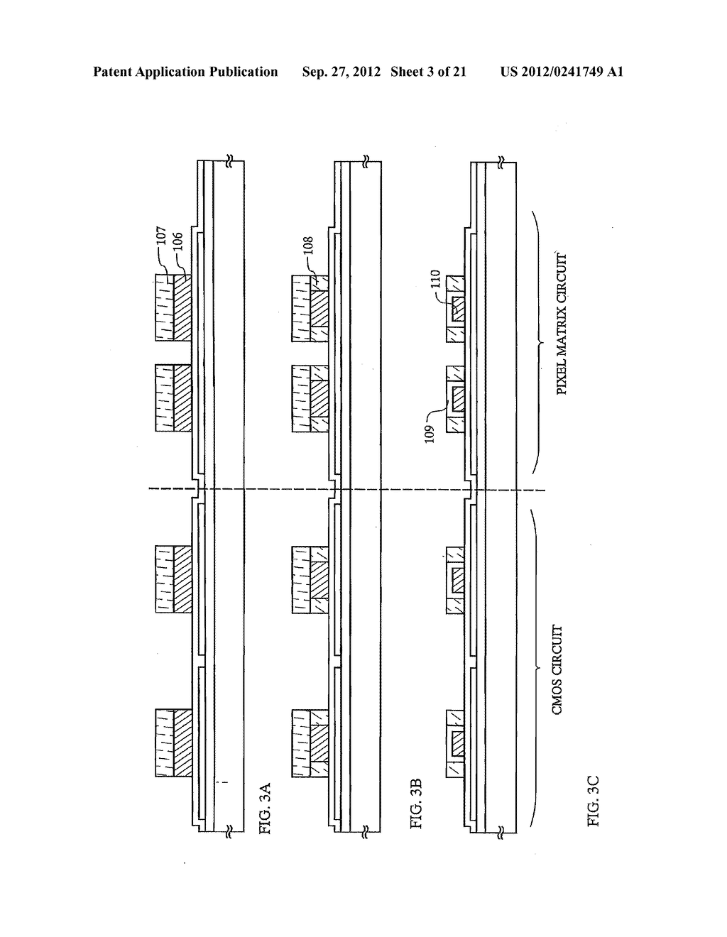 SEMICONDUCTOR DEVICE INCLUDING SEMICONDUCTOR CIRCUIT MADE FROM     SEMICONDUCTOR ELEMENT AND MANUFACTURING METHOD THEREOF - diagram, schematic, and image 04