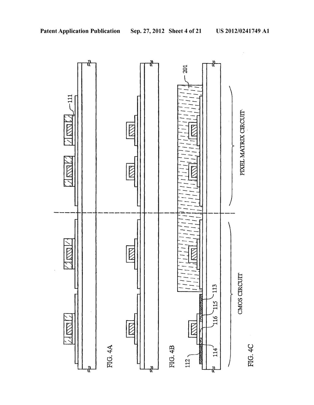 SEMICONDUCTOR DEVICE INCLUDING SEMICONDUCTOR CIRCUIT MADE FROM     SEMICONDUCTOR ELEMENT AND MANUFACTURING METHOD THEREOF - diagram, schematic, and image 05