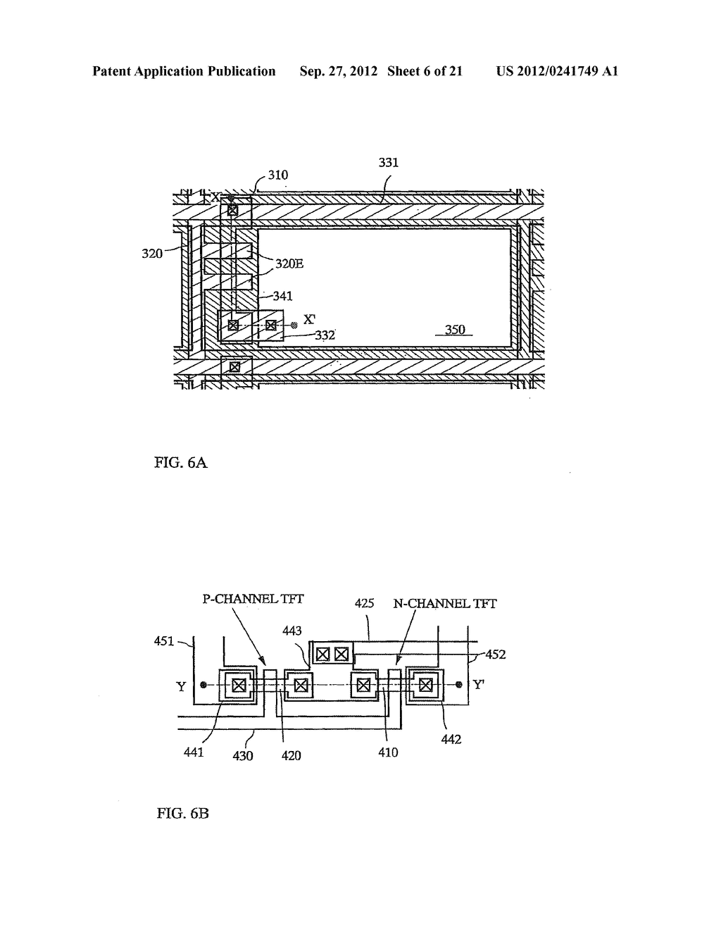 SEMICONDUCTOR DEVICE INCLUDING SEMICONDUCTOR CIRCUIT MADE FROM     SEMICONDUCTOR ELEMENT AND MANUFACTURING METHOD THEREOF - diagram, schematic, and image 07