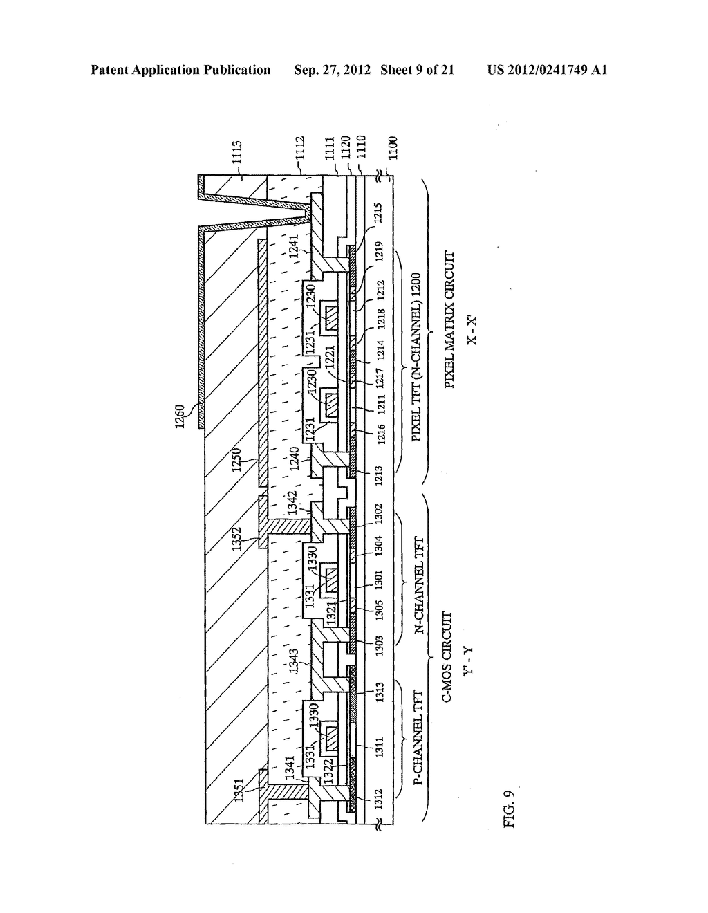 SEMICONDUCTOR DEVICE INCLUDING SEMICONDUCTOR CIRCUIT MADE FROM     SEMICONDUCTOR ELEMENT AND MANUFACTURING METHOD THEREOF - diagram, schematic, and image 10