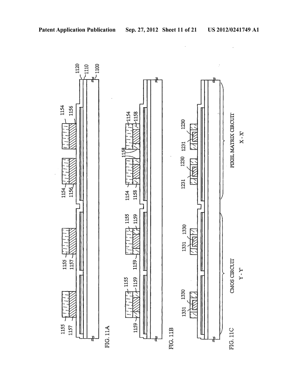 SEMICONDUCTOR DEVICE INCLUDING SEMICONDUCTOR CIRCUIT MADE FROM     SEMICONDUCTOR ELEMENT AND MANUFACTURING METHOD THEREOF - diagram, schematic, and image 12