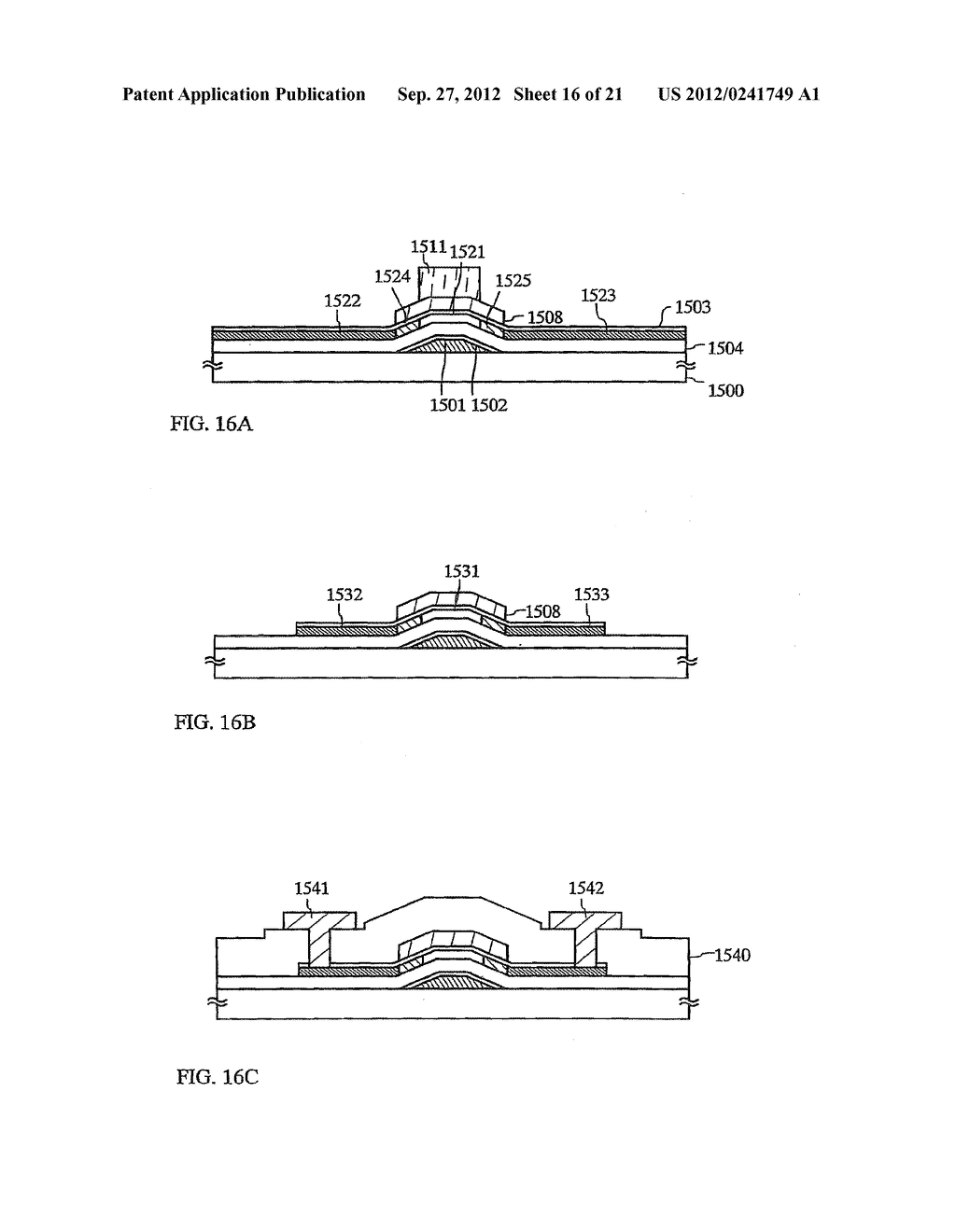 SEMICONDUCTOR DEVICE INCLUDING SEMICONDUCTOR CIRCUIT MADE FROM     SEMICONDUCTOR ELEMENT AND MANUFACTURING METHOD THEREOF - diagram, schematic, and image 17