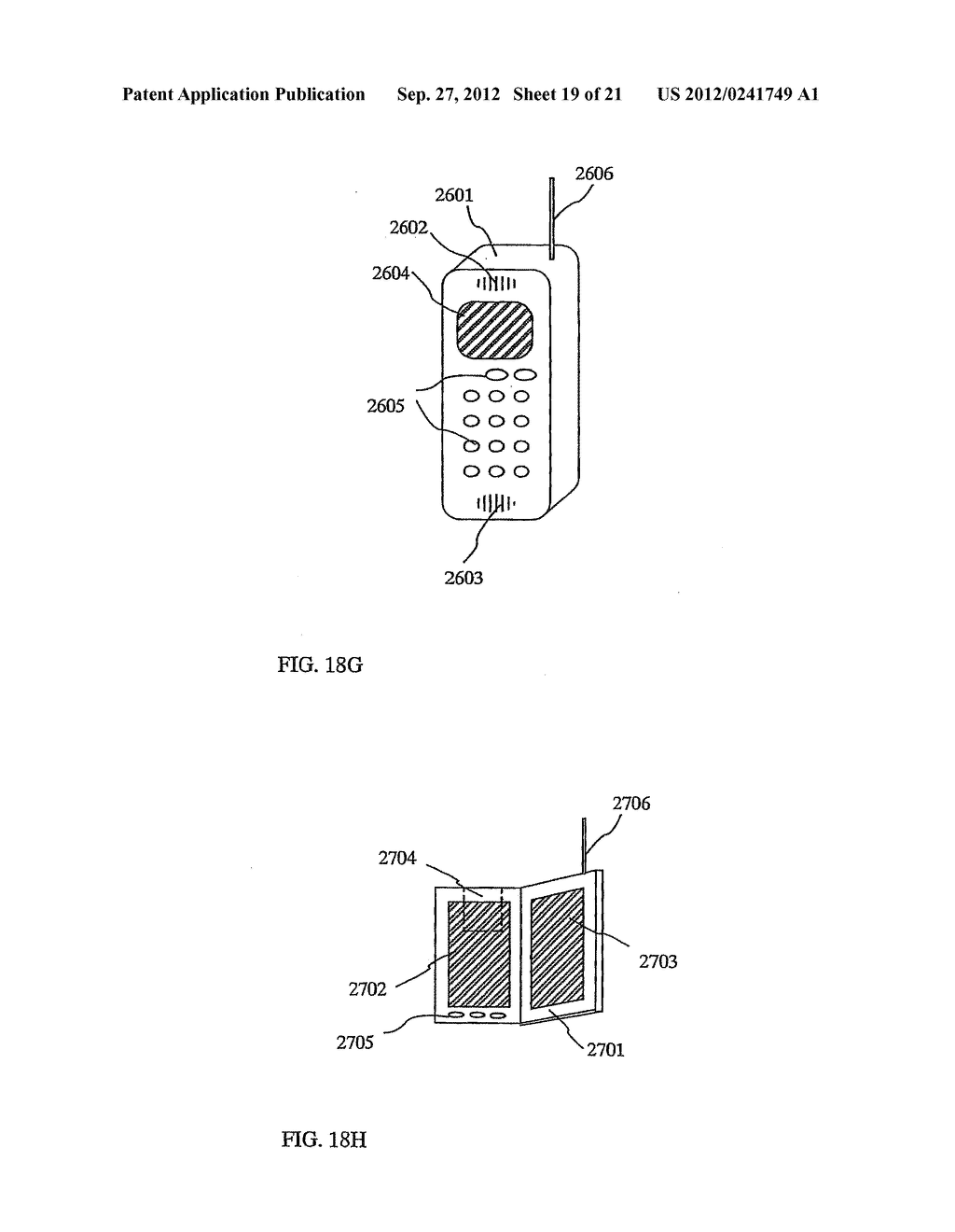 SEMICONDUCTOR DEVICE INCLUDING SEMICONDUCTOR CIRCUIT MADE FROM     SEMICONDUCTOR ELEMENT AND MANUFACTURING METHOD THEREOF - diagram, schematic, and image 20