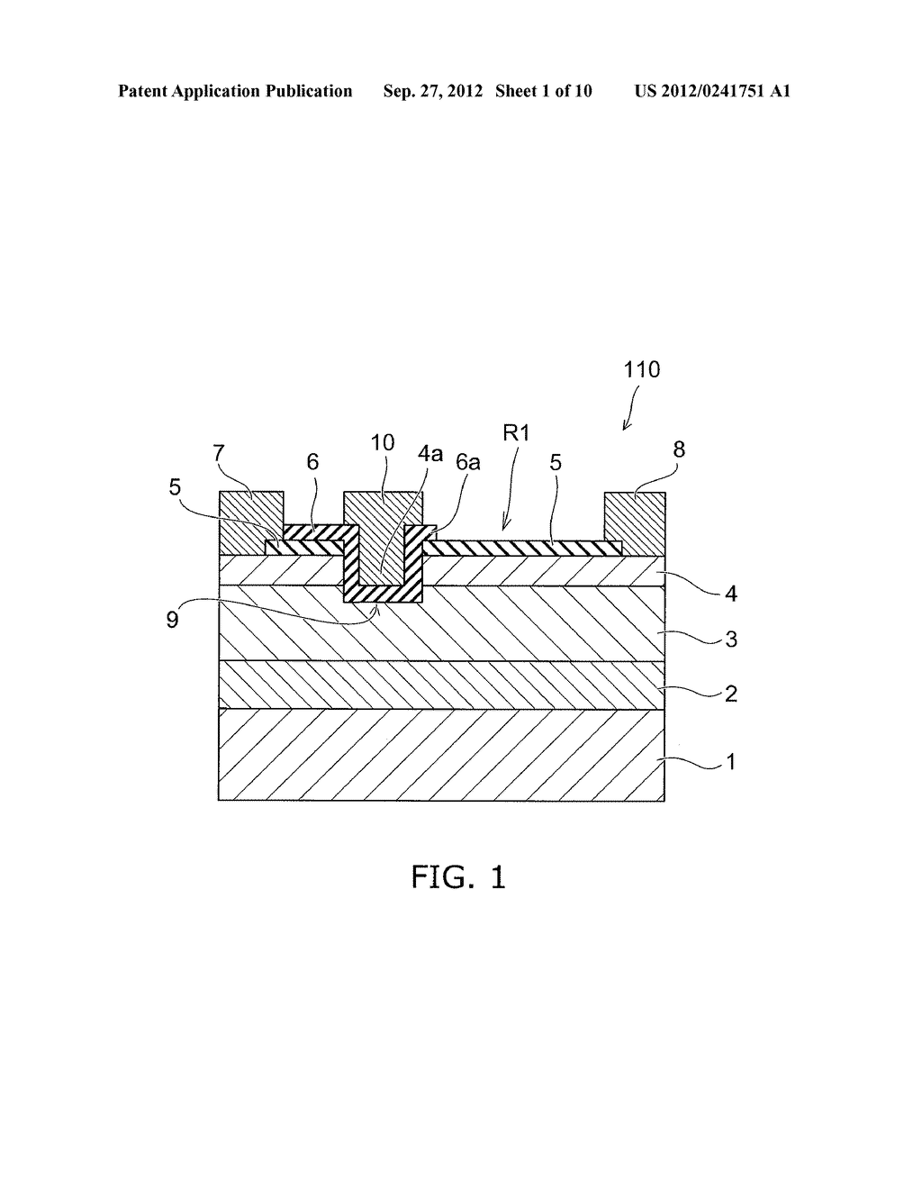 NITRIDE SEMICONDUCTOR DEVICE AND METHOD FOR MANUFACTURING SAME - diagram, schematic, and image 02