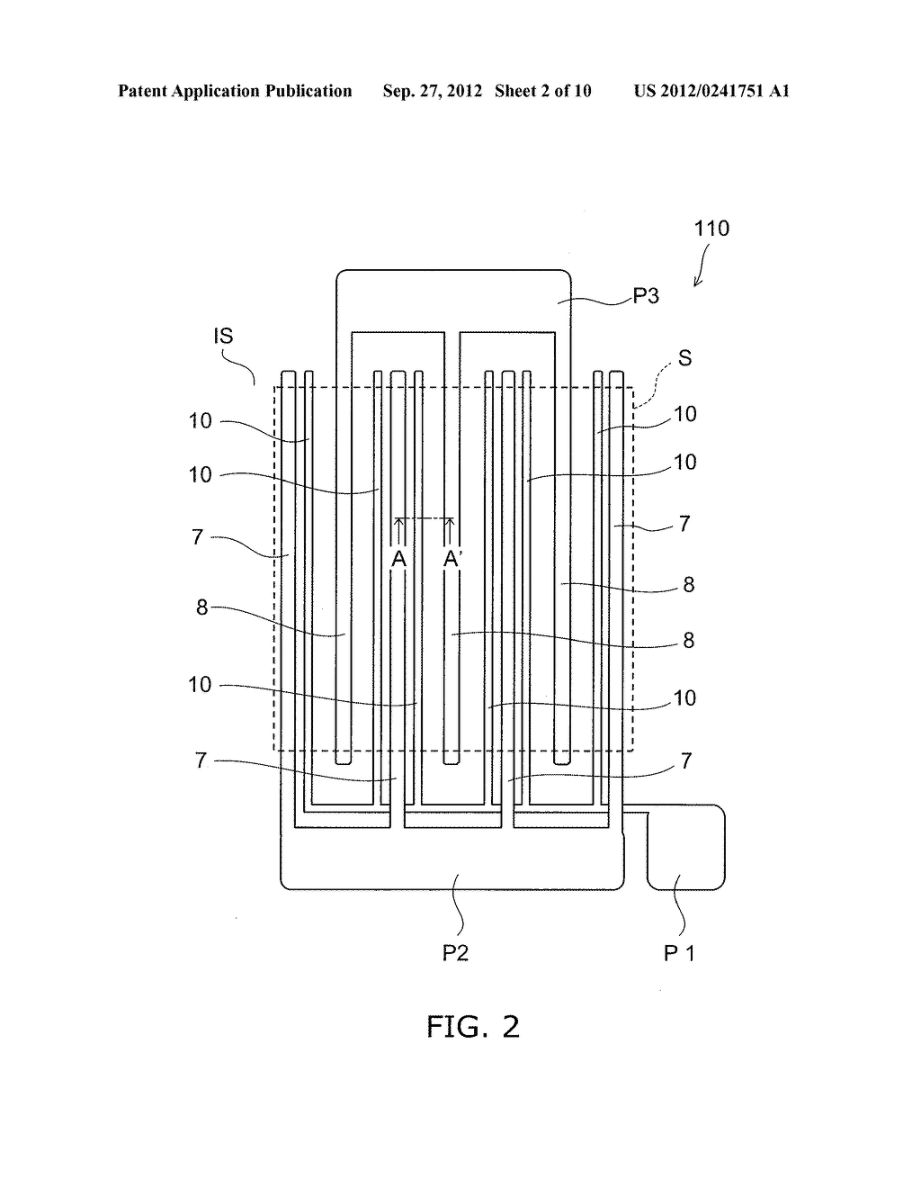 NITRIDE SEMICONDUCTOR DEVICE AND METHOD FOR MANUFACTURING SAME - diagram, schematic, and image 03