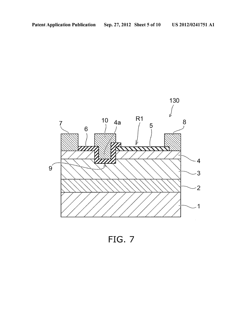 NITRIDE SEMICONDUCTOR DEVICE AND METHOD FOR MANUFACTURING SAME - diagram, schematic, and image 06