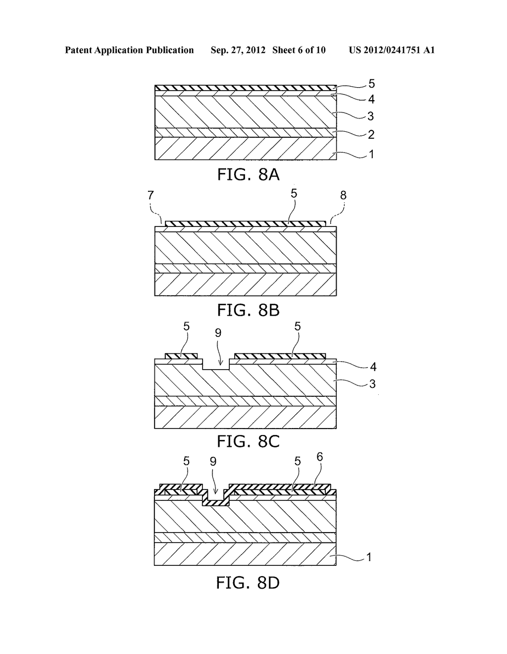 NITRIDE SEMICONDUCTOR DEVICE AND METHOD FOR MANUFACTURING SAME - diagram, schematic, and image 07