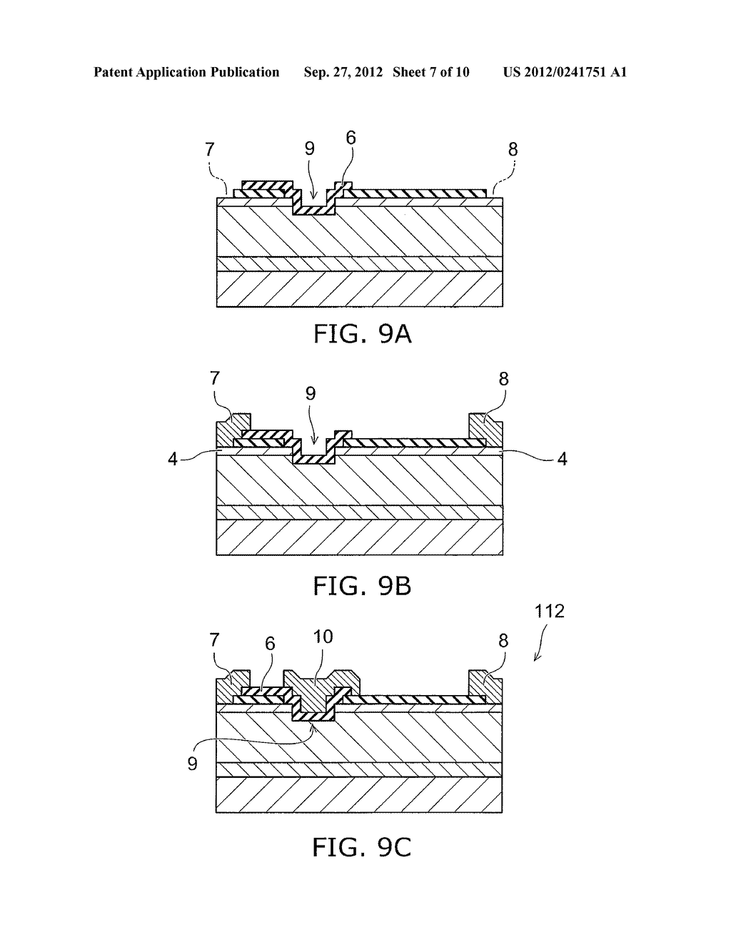 NITRIDE SEMICONDUCTOR DEVICE AND METHOD FOR MANUFACTURING SAME - diagram, schematic, and image 08