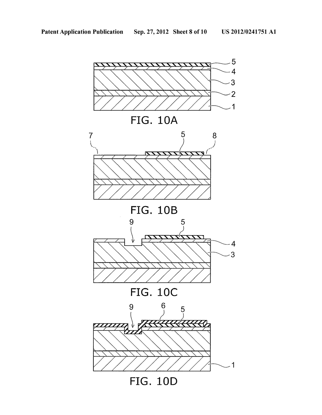 NITRIDE SEMICONDUCTOR DEVICE AND METHOD FOR MANUFACTURING SAME - diagram, schematic, and image 09