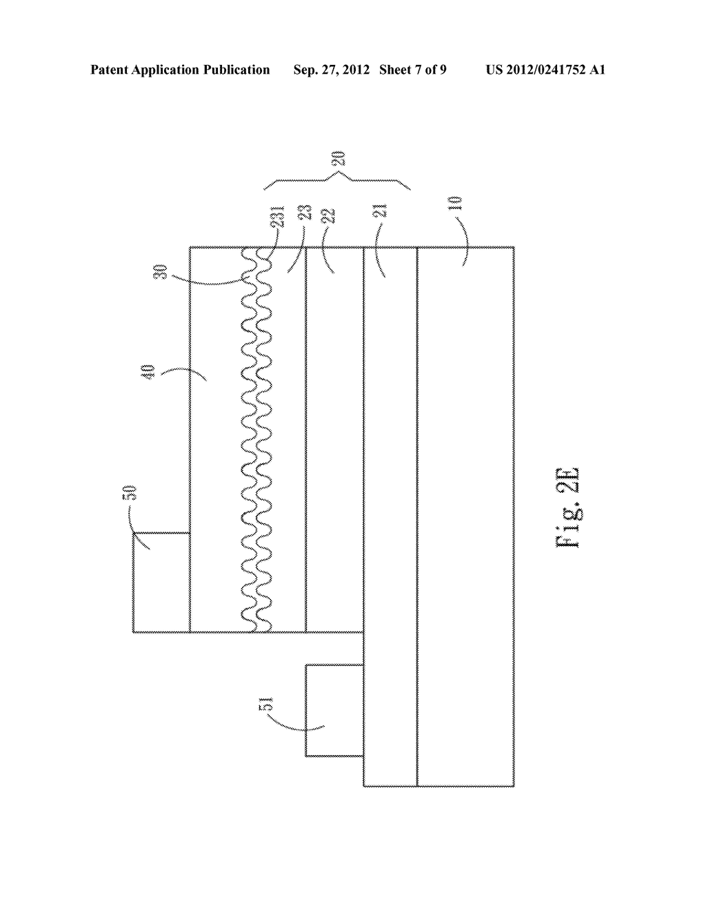 LOW CONTACT RESISTANCE SEMICONDUCTOR STRUCTURE AND METHOD OF FABRICATING     THE SAME - diagram, schematic, and image 08