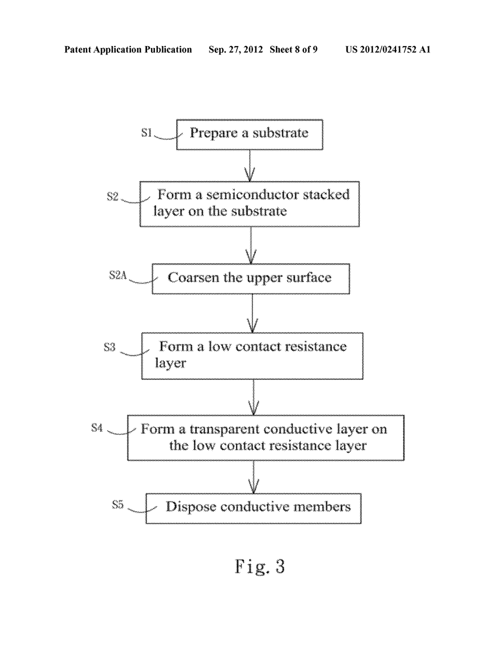 LOW CONTACT RESISTANCE SEMICONDUCTOR STRUCTURE AND METHOD OF FABRICATING     THE SAME - diagram, schematic, and image 09