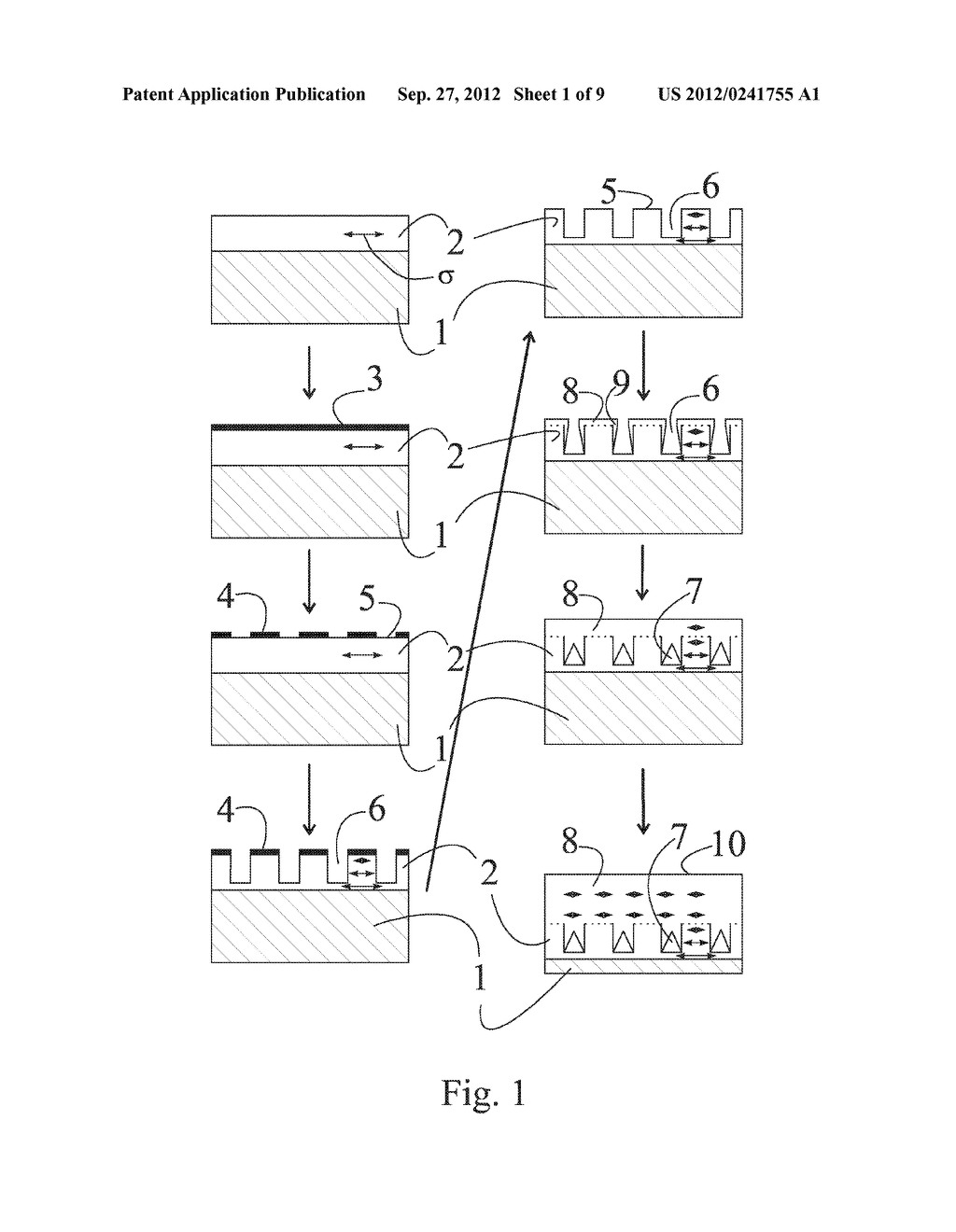 METHOD FOR REDUCING INTERNAL MECHANICAL STRESSES IN A SEMICONDUCTOR     STRUCTURE AND A LOW MECHANICAL STRESS SEMICONDUCTOR STRUCTURE - diagram, schematic, and image 02