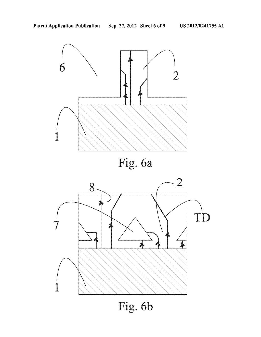 METHOD FOR REDUCING INTERNAL MECHANICAL STRESSES IN A SEMICONDUCTOR     STRUCTURE AND A LOW MECHANICAL STRESS SEMICONDUCTOR STRUCTURE - diagram, schematic, and image 07