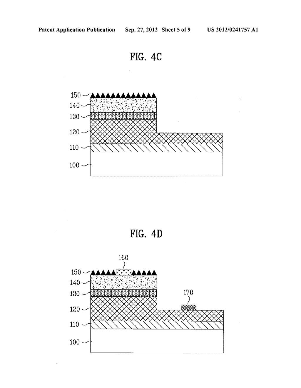 LIGHT EMITTING DEVICE AND METHOD OF MANUFACTURING THE SAME - diagram, schematic, and image 06
