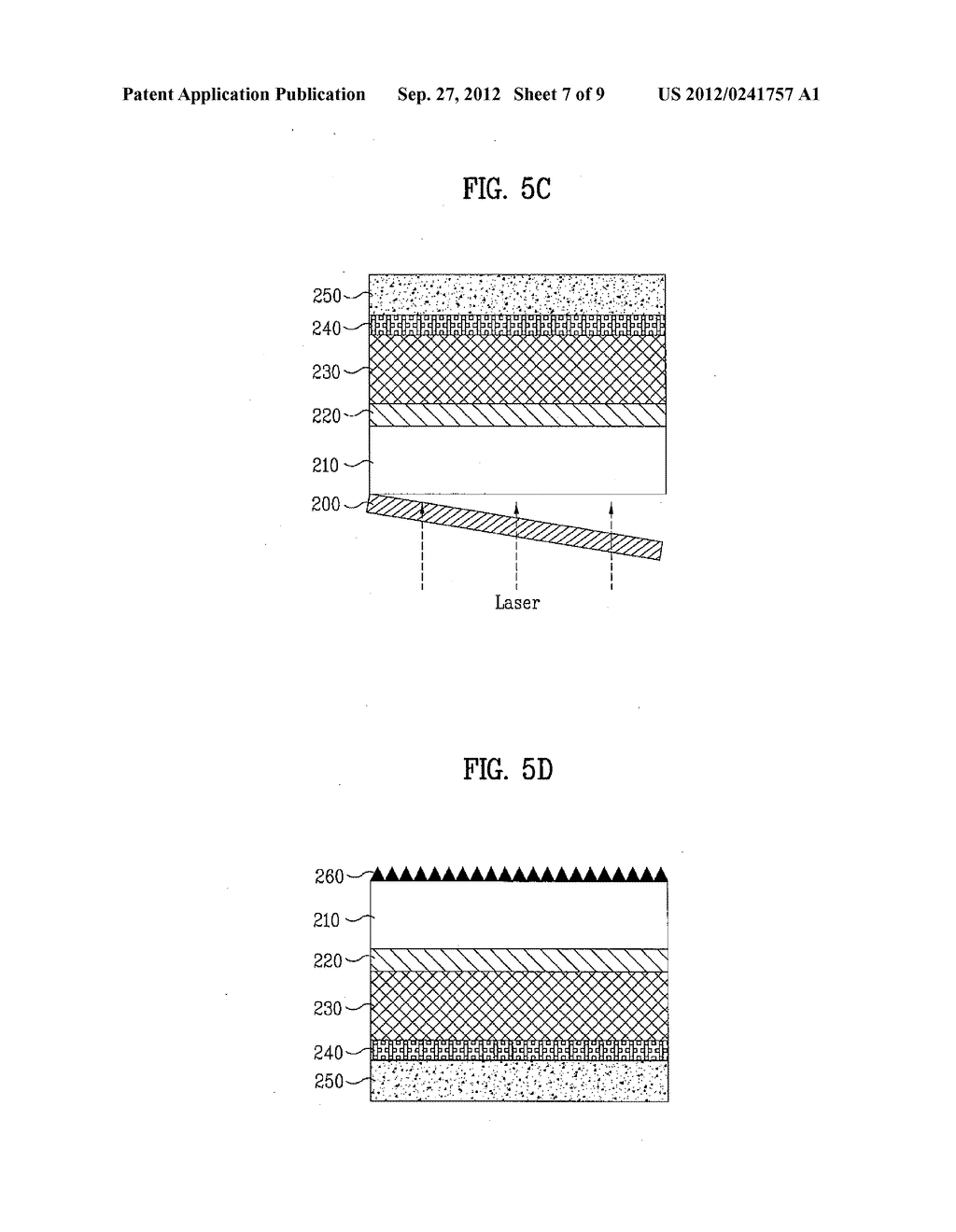 LIGHT EMITTING DEVICE AND METHOD OF MANUFACTURING THE SAME - diagram, schematic, and image 08
