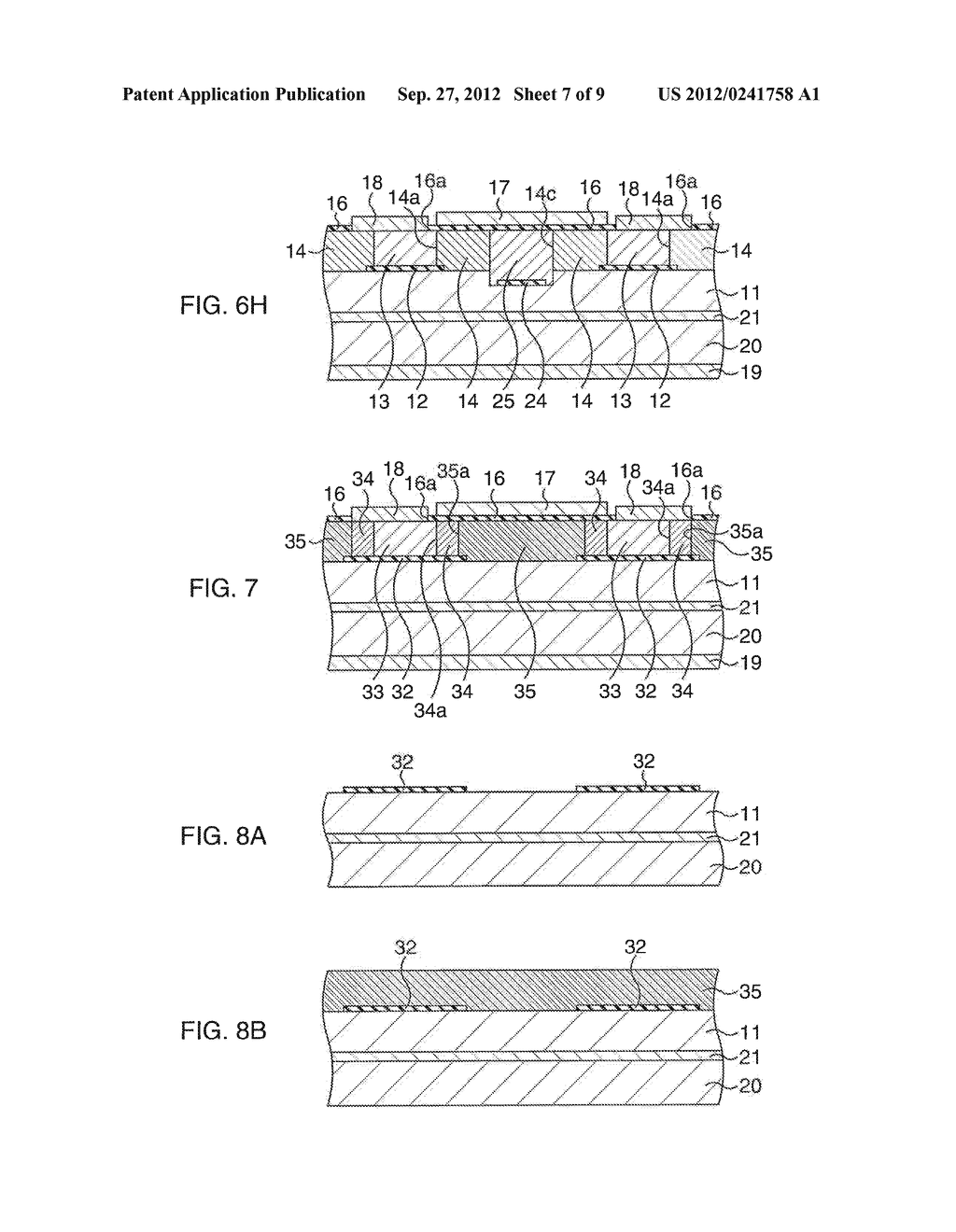 COMPOUND SEMICONDUCTOR DEVICE AND MANUFACTURING METHOD THEREOF - diagram, schematic, and image 08