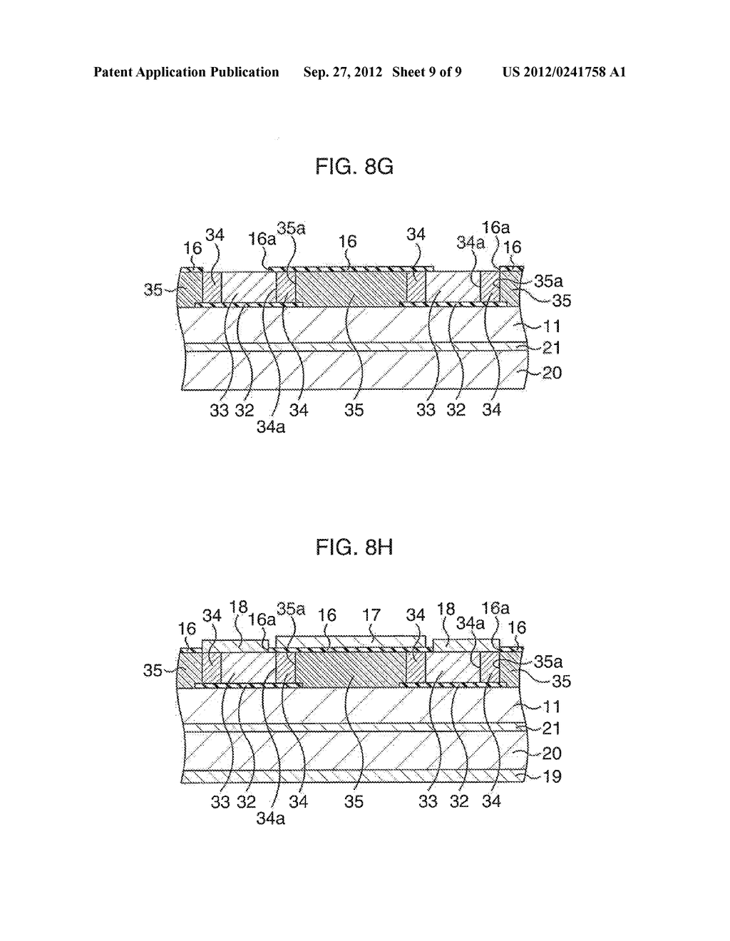 COMPOUND SEMICONDUCTOR DEVICE AND MANUFACTURING METHOD THEREOF - diagram, schematic, and image 10