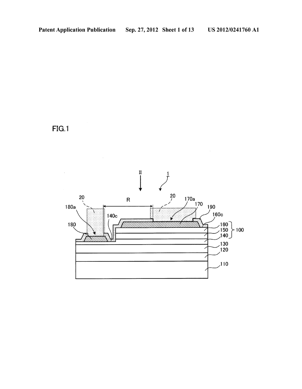 SEMICONDUCTOR LIGHT EMITTING ELEMENT AND SEMICONDUCTOR LIGHT EMITTING     DEVICE - diagram, schematic, and image 02