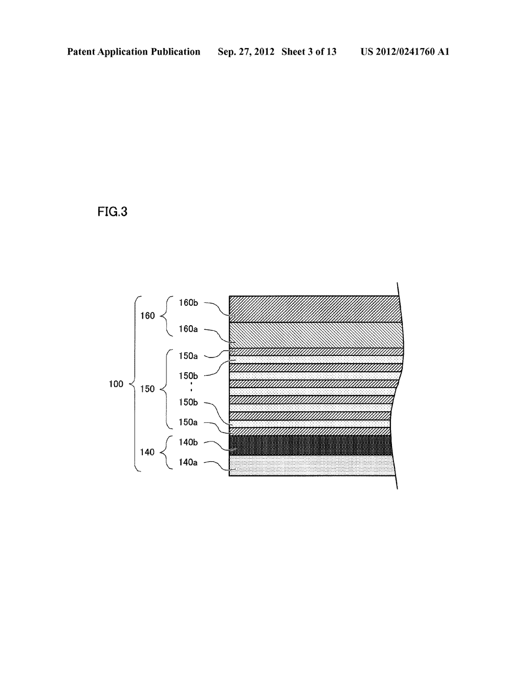 SEMICONDUCTOR LIGHT EMITTING ELEMENT AND SEMICONDUCTOR LIGHT EMITTING     DEVICE - diagram, schematic, and image 04