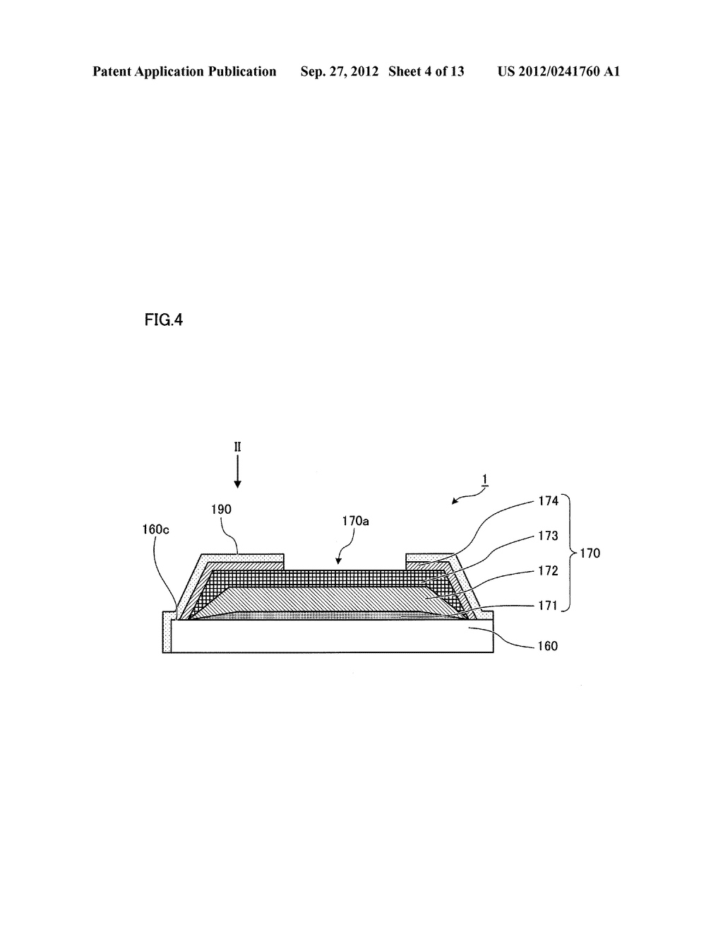 SEMICONDUCTOR LIGHT EMITTING ELEMENT AND SEMICONDUCTOR LIGHT EMITTING     DEVICE - diagram, schematic, and image 05
