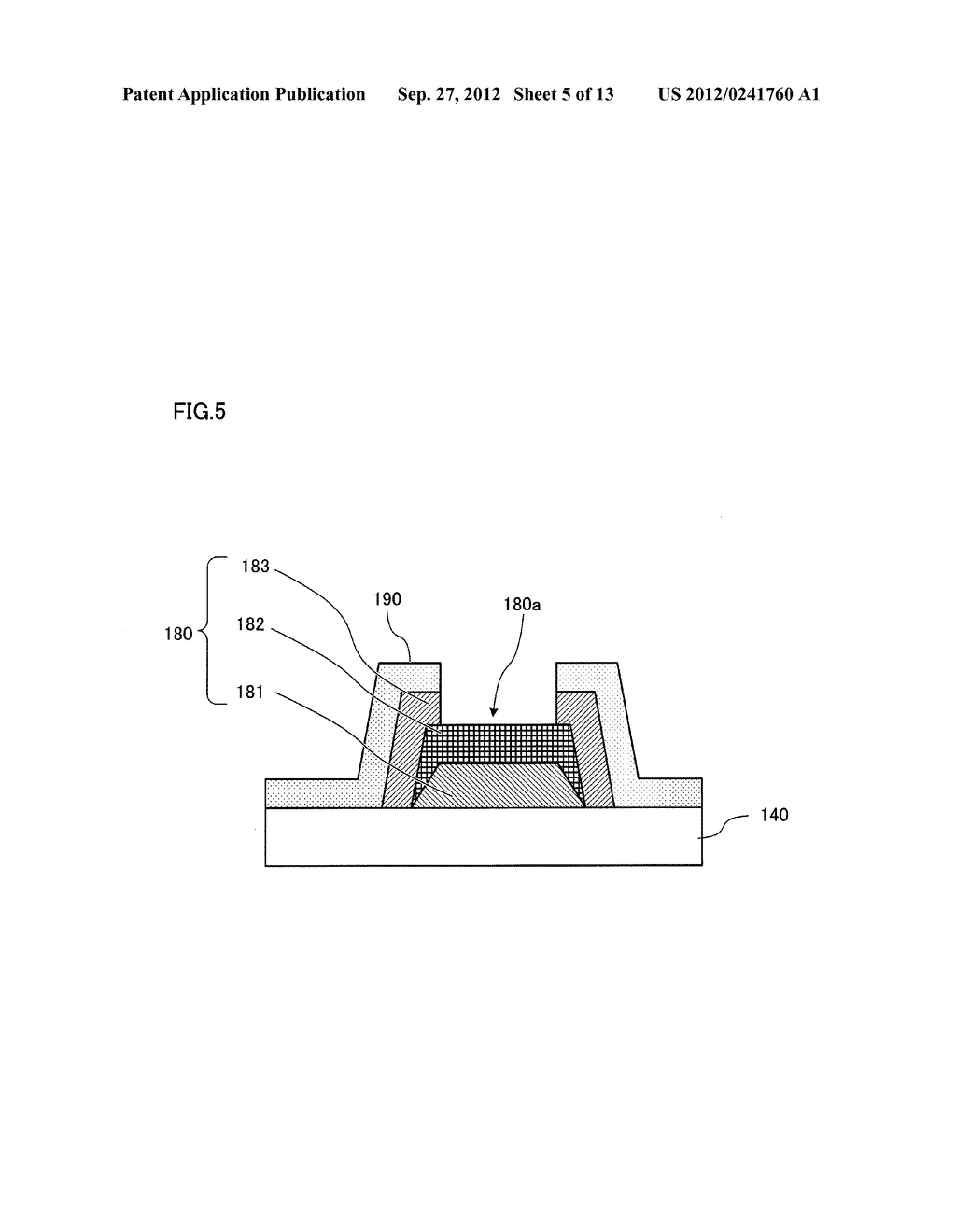 SEMICONDUCTOR LIGHT EMITTING ELEMENT AND SEMICONDUCTOR LIGHT EMITTING     DEVICE - diagram, schematic, and image 06