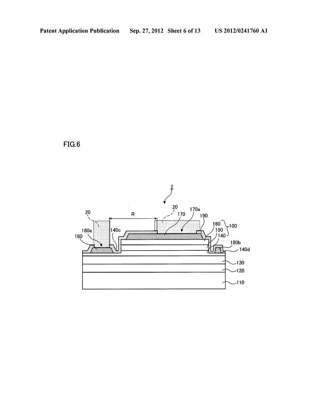 SEMICONDUCTOR LIGHT EMITTING ELEMENT AND SEMICONDUCTOR LIGHT EMITTING     DEVICE - diagram, schematic, and image 07