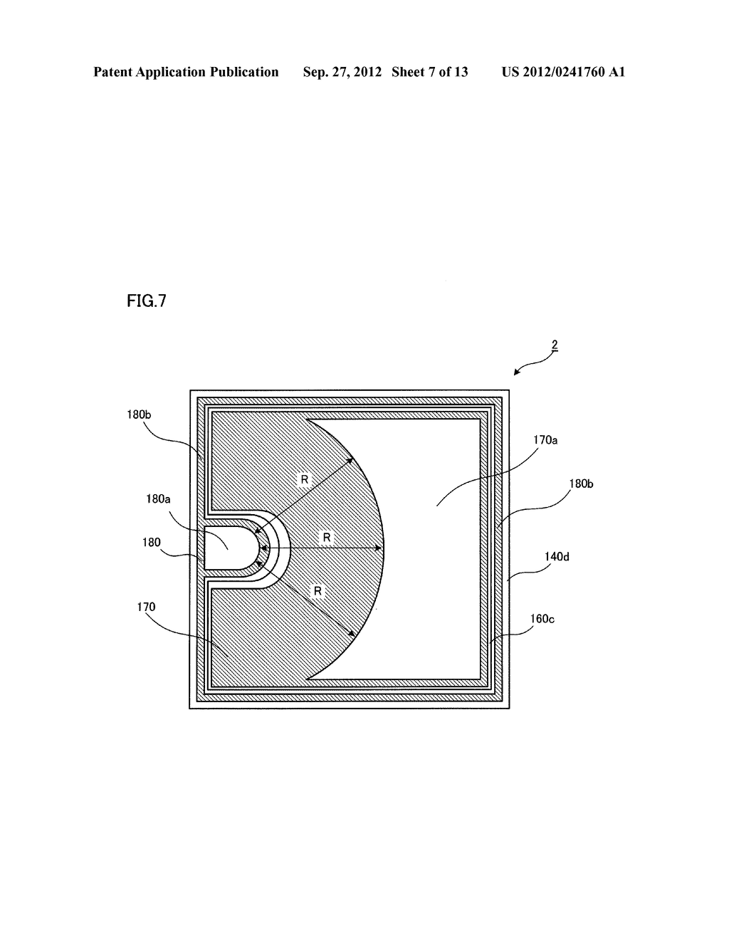 SEMICONDUCTOR LIGHT EMITTING ELEMENT AND SEMICONDUCTOR LIGHT EMITTING     DEVICE - diagram, schematic, and image 08