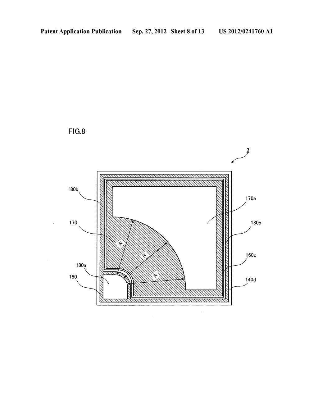 SEMICONDUCTOR LIGHT EMITTING ELEMENT AND SEMICONDUCTOR LIGHT EMITTING     DEVICE - diagram, schematic, and image 09