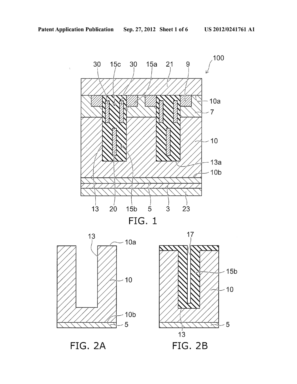SEMICONDUCTOR DEVICE AND METHOD FOR MANUFACTURING SAME - diagram, schematic, and image 02