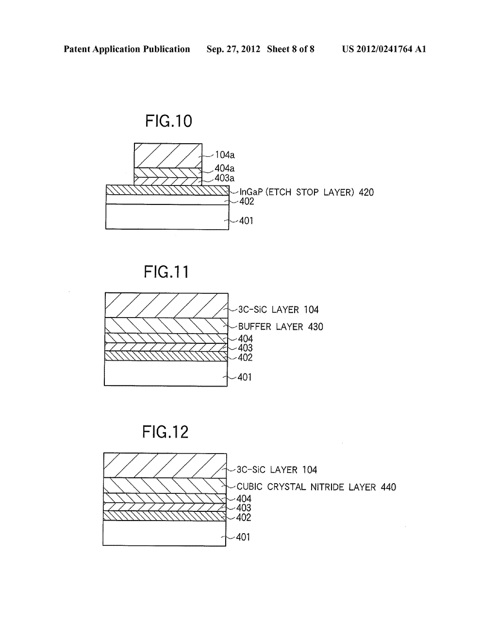 SEMICONDUCTOR DEVICE BASED ON THE CUBIC SILICON CARBIDE SINGLE CRYSTAL     THIN FILM - diagram, schematic, and image 09