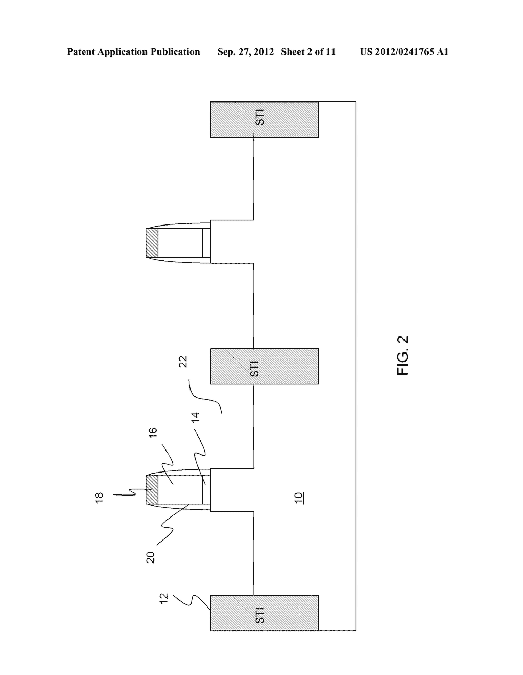 SEMICONDUCTOR DEVICES HAVING TENSILE AND/OR COMPRESSIVE STRAIN AND METHODS     OF MANUFACTURING AND DESIGN STRUCTURE - diagram, schematic, and image 03