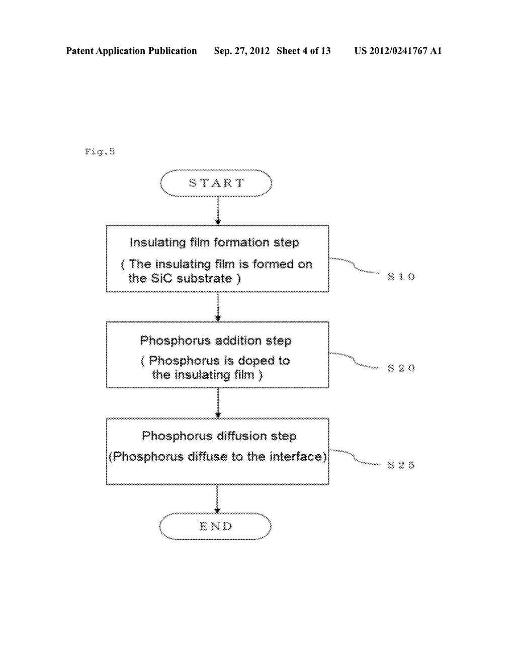 SIC SEMICONDUCTOR ELEMENT AND MANUFACTURING METHOD FOR SAME - diagram, schematic, and image 05