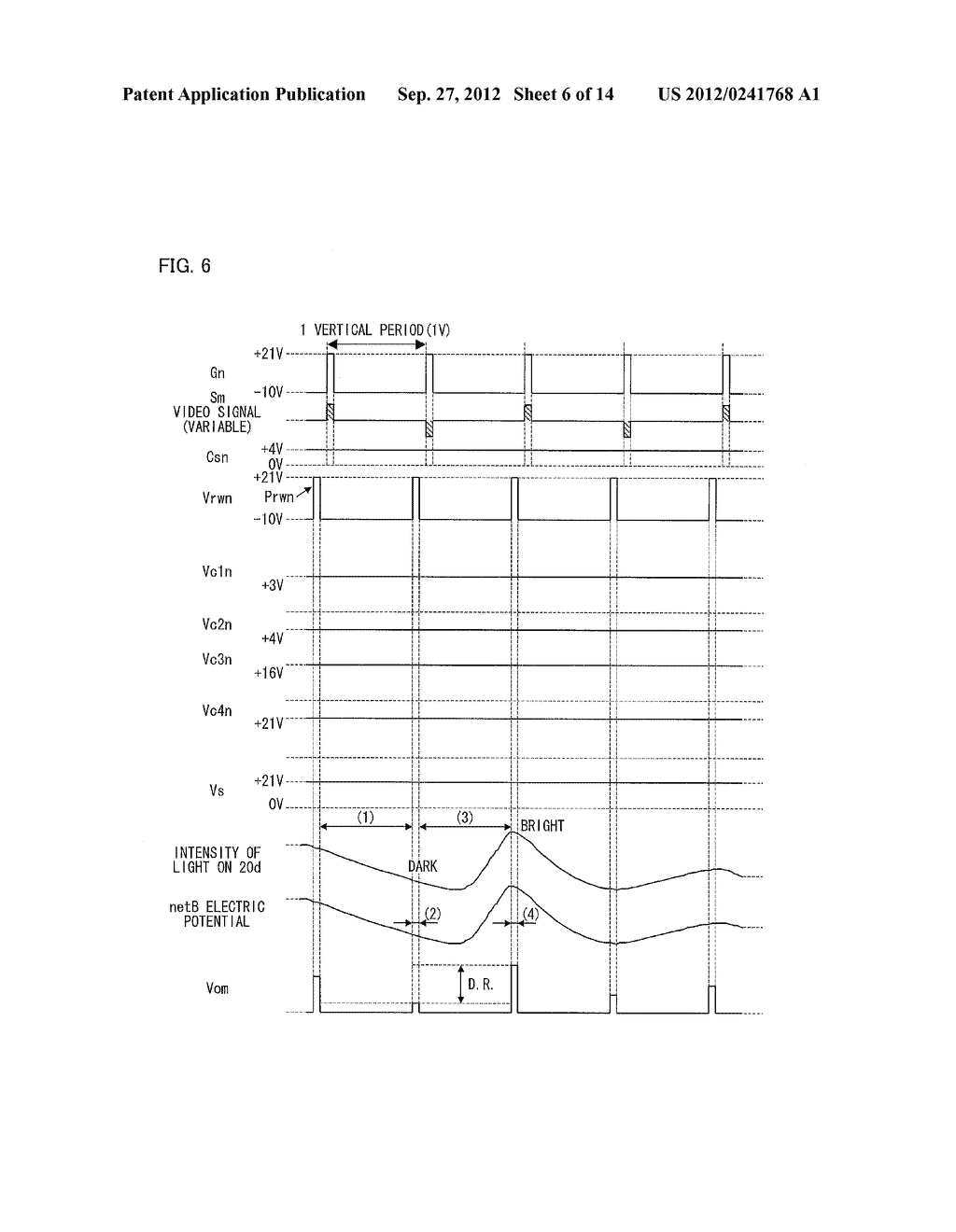 OPTICAL SENSOR CIRCUIT, DISPLAY PANEL, DISPLAY DEVICE, AND METHOD FOR     DRIVING AN OPTICAL SENSOR CIRCUIT - diagram, schematic, and image 07