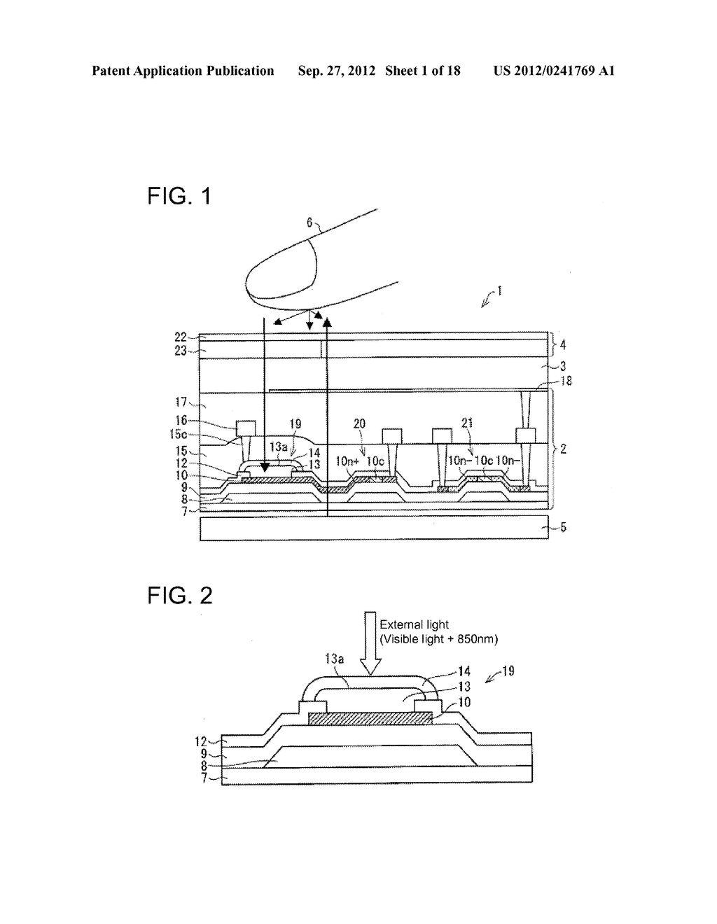 PHOTODIODE AND MANUFACTURING METHOD FOR SAME, SUBSTRATE FOR DISPLAY PANEL,     AND DISPLAY DEVICE - diagram, schematic, and image 02