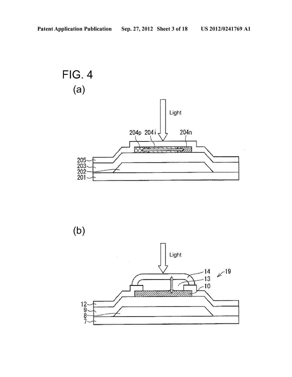 PHOTODIODE AND MANUFACTURING METHOD FOR SAME, SUBSTRATE FOR DISPLAY PANEL,     AND DISPLAY DEVICE - diagram, schematic, and image 04