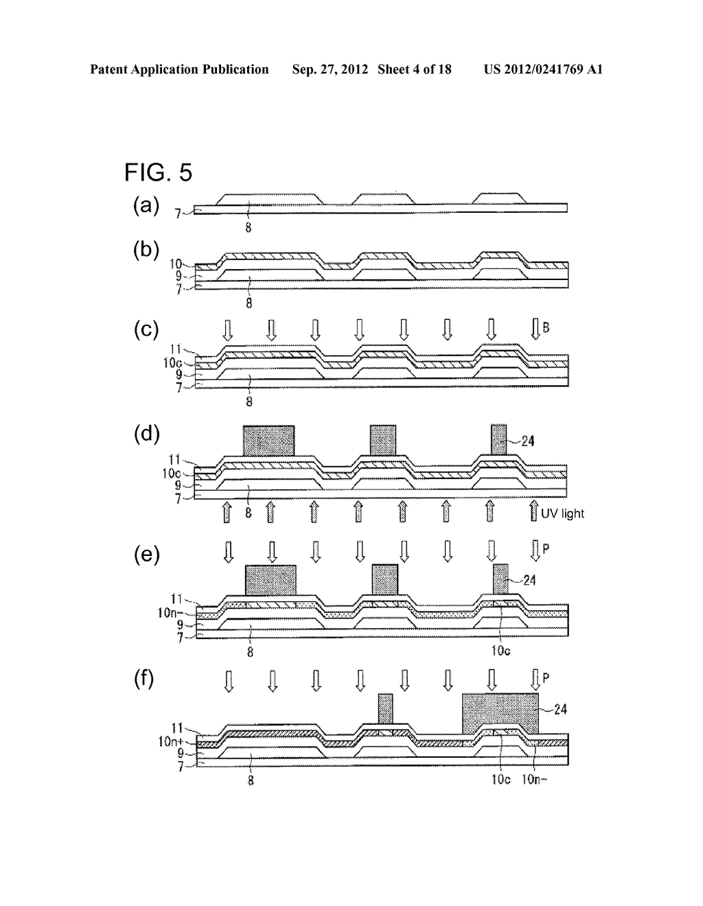 PHOTODIODE AND MANUFACTURING METHOD FOR SAME, SUBSTRATE FOR DISPLAY PANEL,     AND DISPLAY DEVICE - diagram, schematic, and image 05