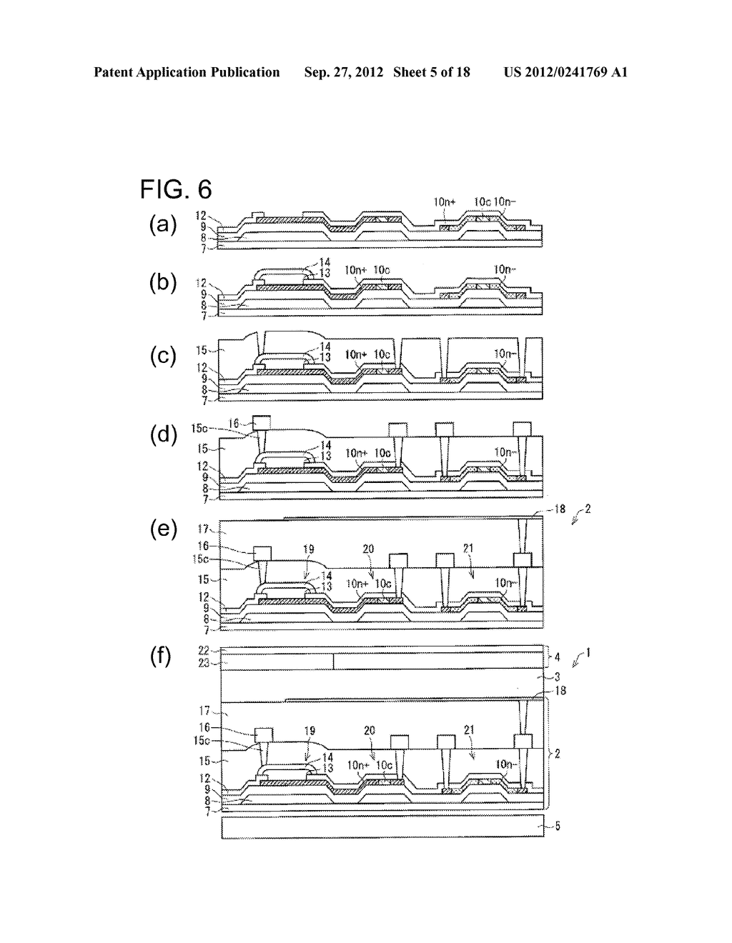 PHOTODIODE AND MANUFACTURING METHOD FOR SAME, SUBSTRATE FOR DISPLAY PANEL,     AND DISPLAY DEVICE - diagram, schematic, and image 06