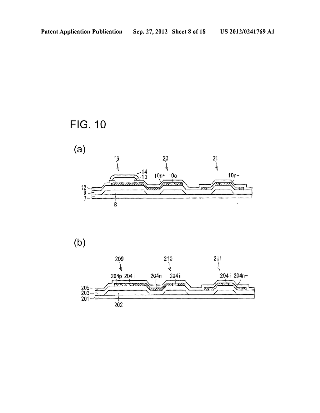 PHOTODIODE AND MANUFACTURING METHOD FOR SAME, SUBSTRATE FOR DISPLAY PANEL,     AND DISPLAY DEVICE - diagram, schematic, and image 09